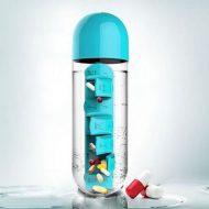 بطری آب + جعبه دارو