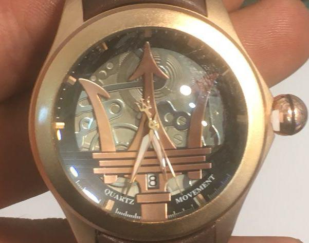 ساعت مچی مردانه مازراتی