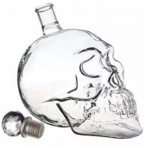 بطری مایعات طرح جمجمه