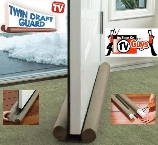 پایین درب درزگیر 2عددی Twin Draft Guard