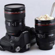 لیوان طرح لنز دوربین عکاسی اصل