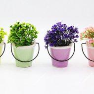 گلدان سطلی ۴ تایی تخفیف ویژه