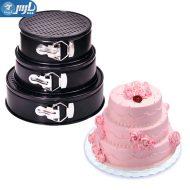 قالب کمربندی دایره ای 3 تایی کیک