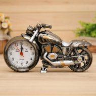خرید ساعت دکوری آلارم دار طرح موتورسیکلت