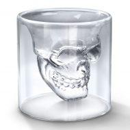 لیوان شیشه ای دوجداره اسکلت 8 تایی