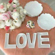 خرید اردو خوری سرامیکی LOVE