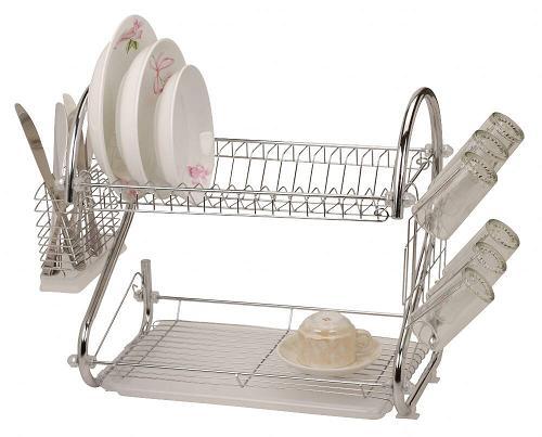 خرید قفسه ظروف دو طبقه