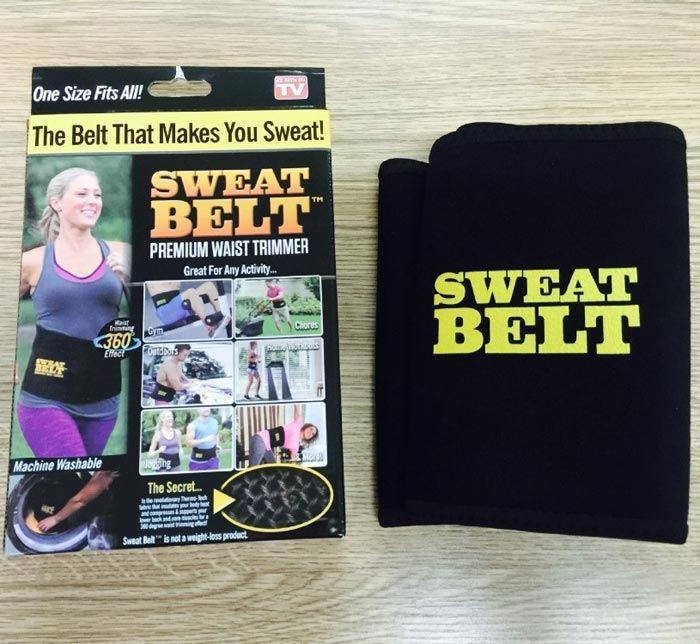 خرید کمربند لاغری sweat belt