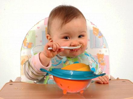 ظرف غذاي جادويي بچه