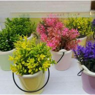گلدان سطلی ۴ تایی