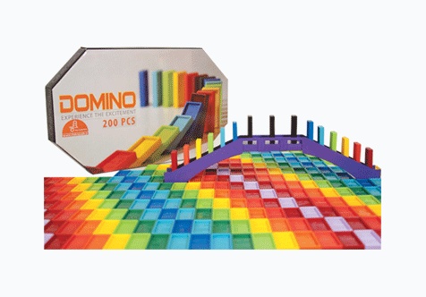 بازی فکری دومینو 200 قطعه ای