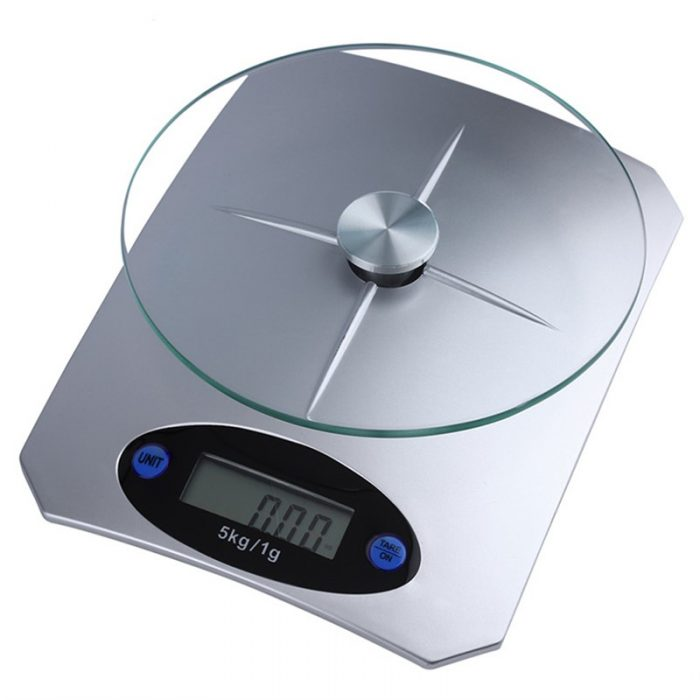 5Kg-11lbs-x-1g-0-1oz-Digital-Kitchen-Scale-Glass-Top-Food-Diet-Scale-Home