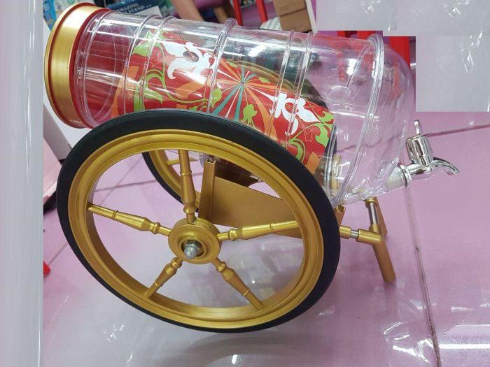خرید اینترنتی بشکه فانتزی مایعات طرح درشکه (1)