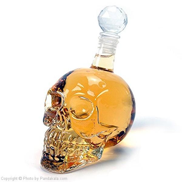 خرید بطری مایعات طرح جمجمه (2)