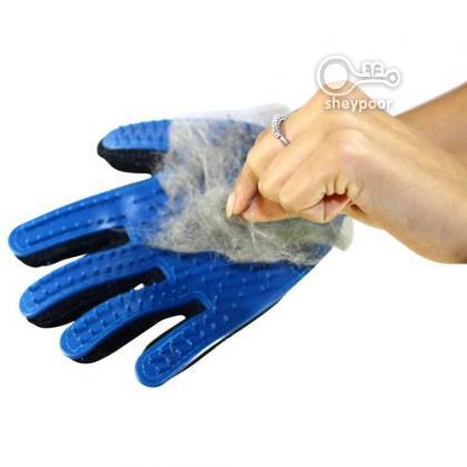 دستکش سیلیکونی لمس حیوانات خانگی (2)