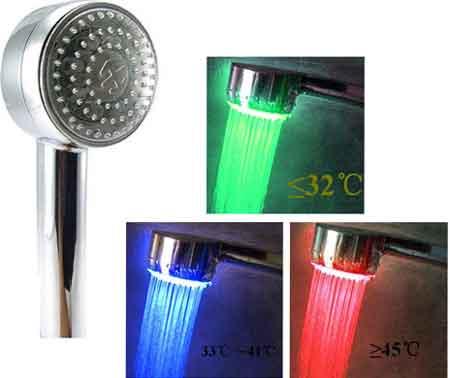 سر دوش LED حمام (1)