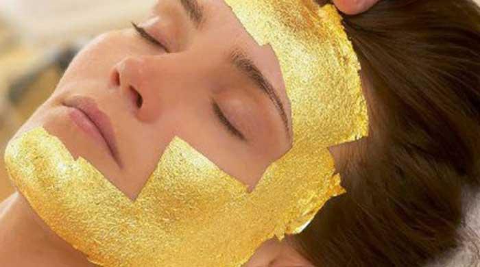 ماسک کلاژن طلا