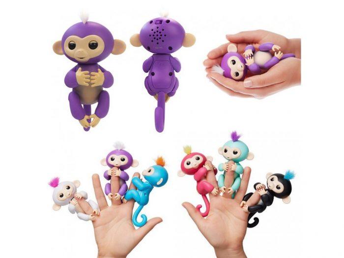 ربات بچه میمون انگشتی