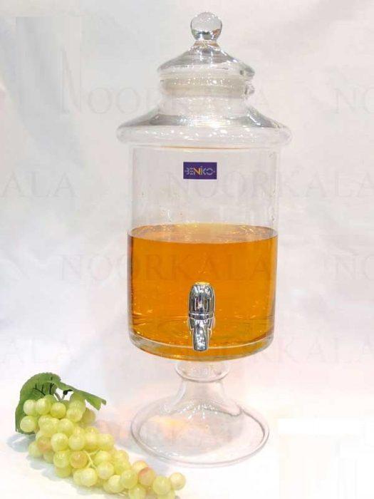 کلمن شیشه ای 8.5 لیتری , خرید اینترنتی کلمن شیشه ای 8.5 لیتری
