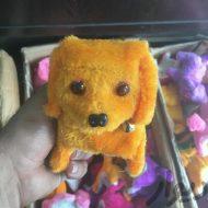 عروسک باتری خور سگ کوچک در دو رنگ