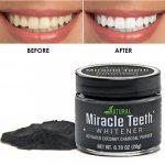 پودر زغال سفید کننده دندان میراکل