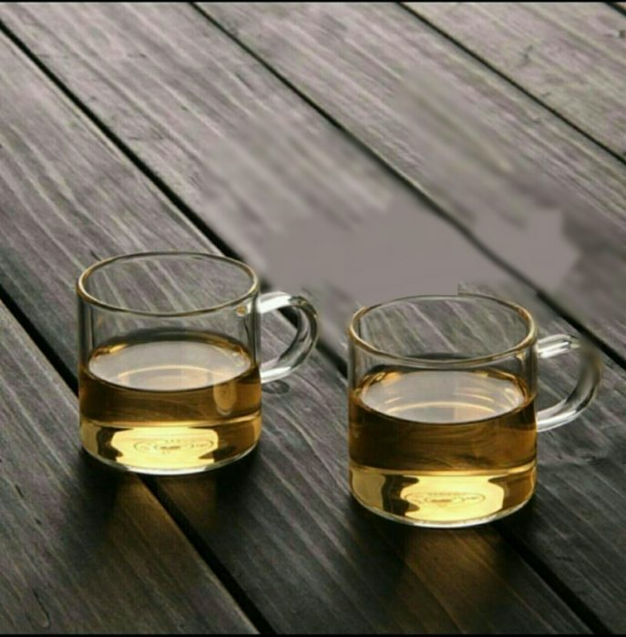 فنجان شیشه ای پیرکس 6عددی