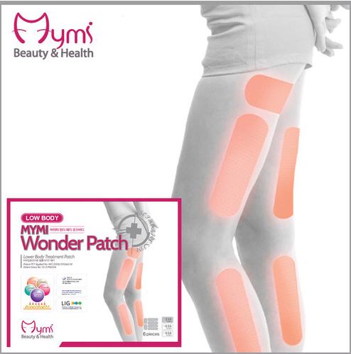 چسب لاغری ران و ساق پا