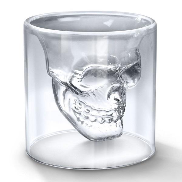 خرید لیوان شیشه ای دوجداره اسکلت (1)