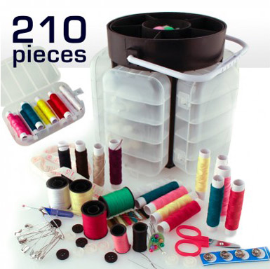 ست کامل خیاطی 210 تکه Sewing kit