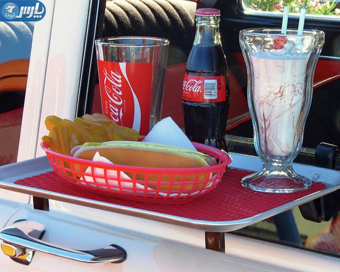 میز غذاخوری ماشین,