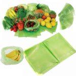 کیسه های سبز افزایش مدت نگهداری مواد غذایی 2بسته ای