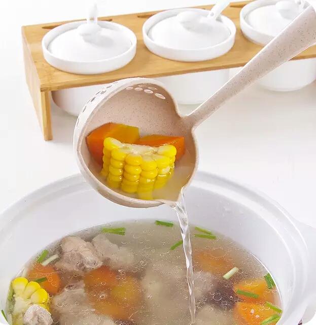 ملاقه آبکش دار گیاهی (4)