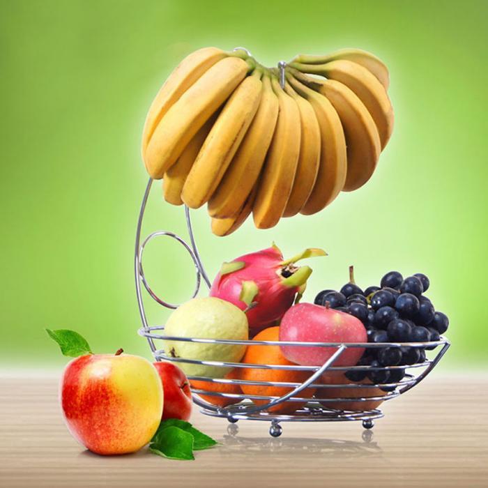 سبد میوه با آویز موز (1)