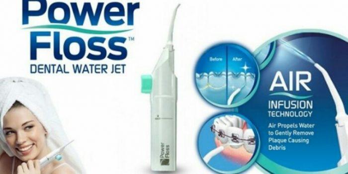 خرید اینترنتی نخ دندان آبی واترجت powerfloss