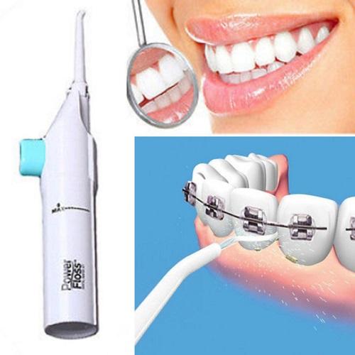 واترجت دندان و نخ دندان آبی powerfloss