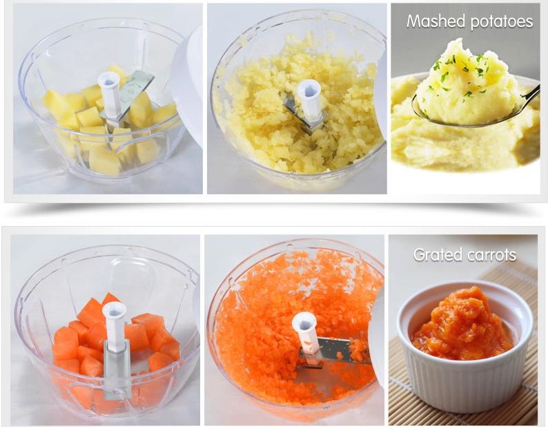 غذاساز مینی کاتر با دسته کششی